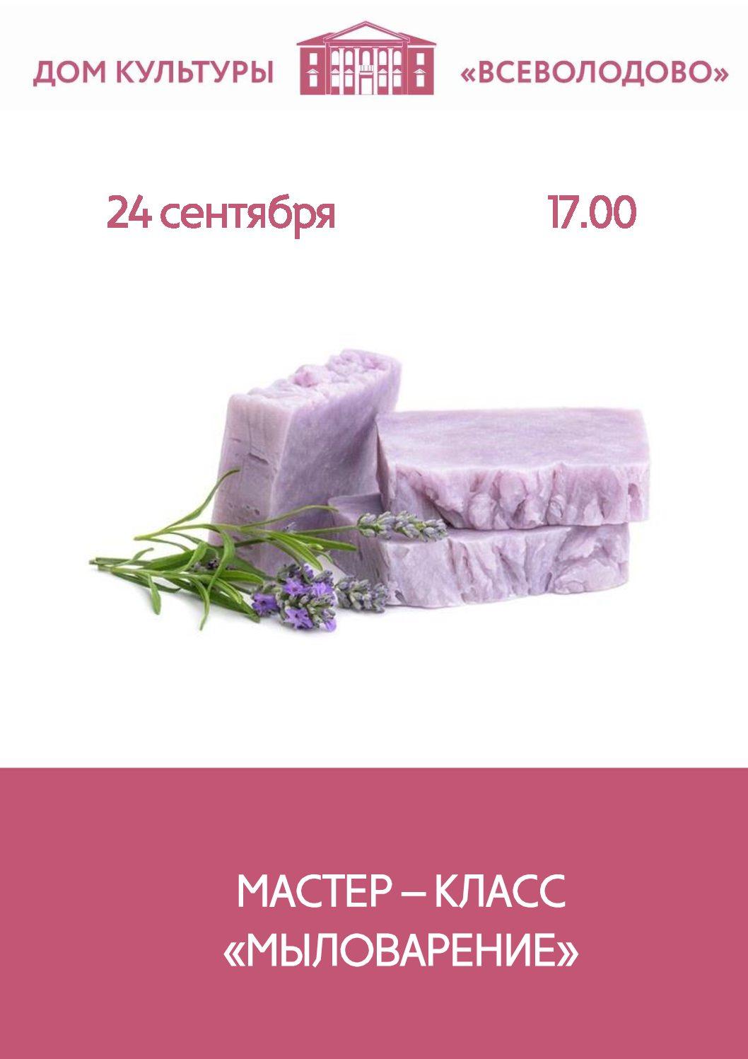 """Мастер-класс """"Мыловарение г. Электросталь, СДК «Всеволодово»"""